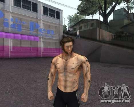 X-men Origins: Wolverine [Skins Pack] pour GTA San Andreas cinquième écran
