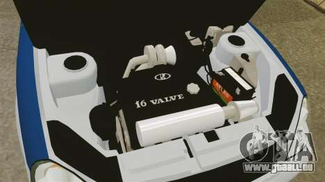 VAZ-Lada 2170 Priora DPS für GTA 4 Rückansicht