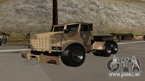 GTA V Barracks Semi für GTA San Andreas