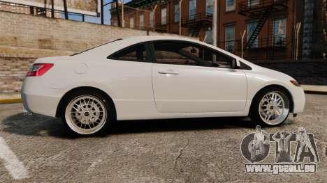 Honda Civic Si v2.0 pour GTA 4 est une gauche