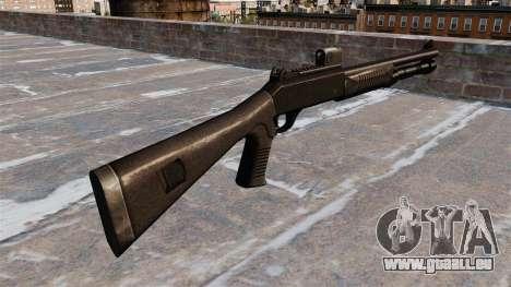 Fusil semi-automatique le Benelli tactique pour GTA 4 secondes d'écran