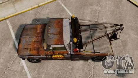 Chevrolet Tow truck rusty Stock für GTA 4 rechte Ansicht