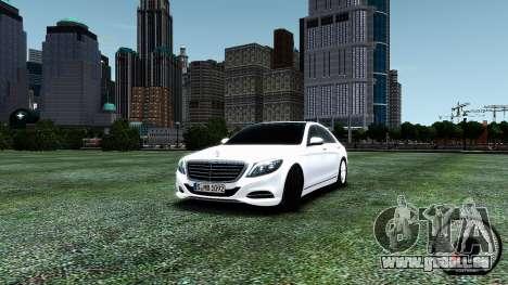Mercedes-Benz S-Class W222 2014 für GTA 4
