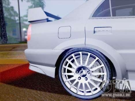 Mitsubishi Lancer Evolution VI LE für GTA San Andreas obere Ansicht