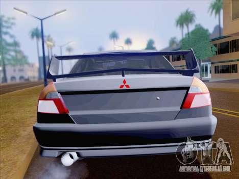 Mitsubishi Lancer Evolution VI LE für GTA San Andreas Seitenansicht