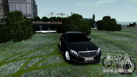 Mercedes-Benz S-Class W222 2014 pour GTA 4 Salon