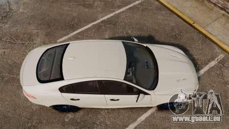 Jaguar XFR 2010 Police Unmarked [ELS] pour GTA 4 est un droit