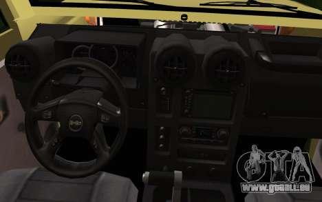 Toyota Land Cruiser Machito 2013 6Puertas 4x4 für GTA San Andreas rechten Ansicht