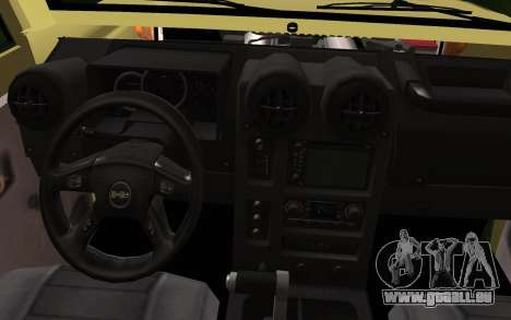 Toyota Land Cruiser Machito 2013 6Puertas 4x4 pour GTA San Andreas vue de droite