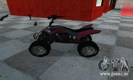 GTA 5 Blazer ATV pour GTA San Andreas laissé vue