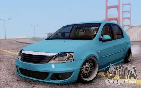 Dacia Logan pour GTA San Andreas