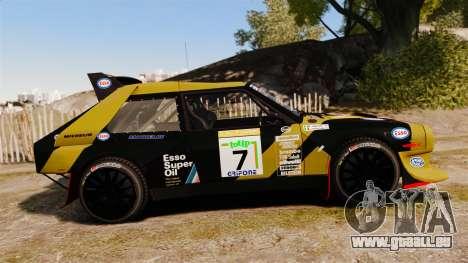 Lancia Delta S4 GroupB pour GTA 4 est une gauche