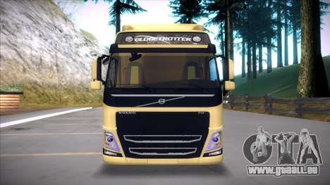 Volvo FM 2013 für GTA San Andreas Rückansicht