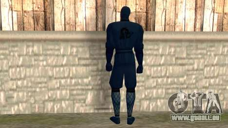 Ninja pour GTA San Andreas deuxième écran