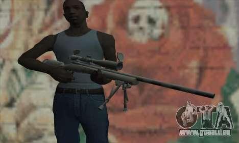 M24 für GTA San Andreas dritten Screenshot