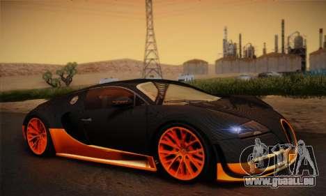 Bugatti Veyron Super Sport World Record Edition pour GTA San Andreas