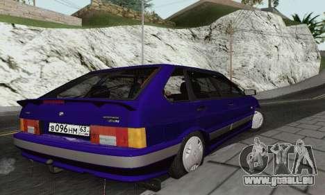 BA3 2114 pour GTA San Andreas vue arrière