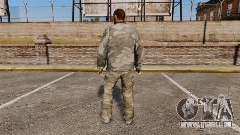 Costume de Camo urbain pour GTA 4 secondes d'écran