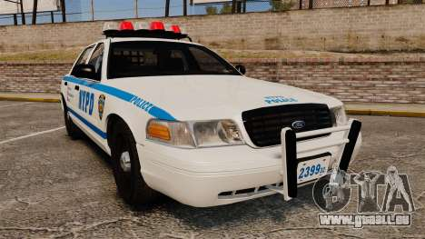 Ford Crown Victoria 1999 NYPD pour GTA 4