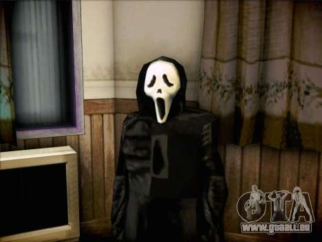 Maniaque du film Scream pour GTA San Andreas