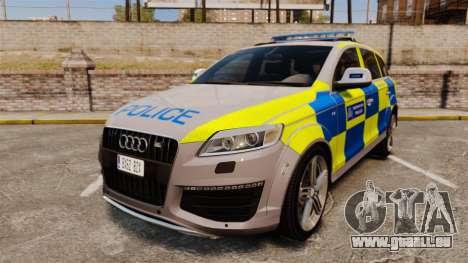 Audi Q7 Metropolitan Police [ELS] pour GTA 4
