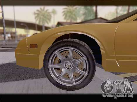 Acura NSX für GTA San Andreas Motor