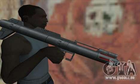 Raketenwerfer aus Star Wars für GTA San Andreas dritten Screenshot
