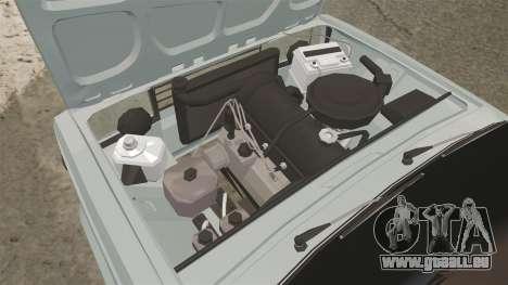 VAZ-2107 (LADA 2107) pour GTA 4 Vue arrière