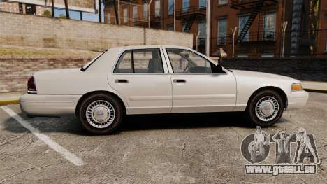 Ford Crown Victoria 1998 v1.1 für GTA 4 linke Ansicht