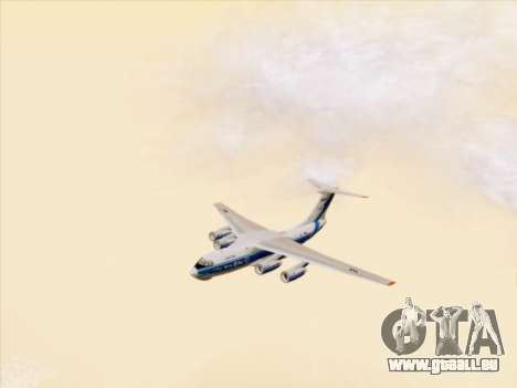 Il-76td-90vd Volga-Dnepr pour GTA San Andreas vue de côté