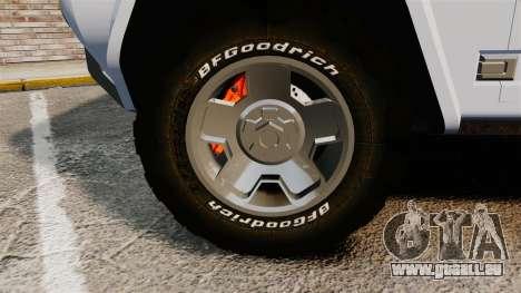 Ford Bronco Concept 2004 für GTA 4 Rückansicht
