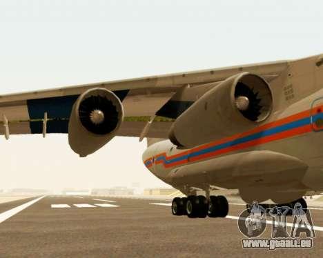 Il-76td EMERCOM de Russie pour GTA San Andreas vue arrière