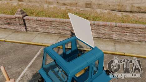 Traktor MTZ-80 für GTA 4 Rückansicht