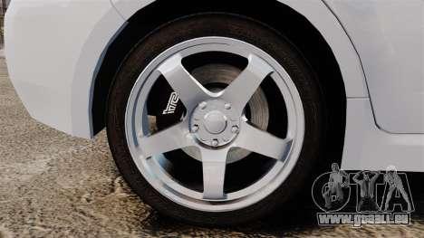 Subaru Impreza 2010 pour GTA 4 Vue arrière