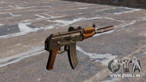 Automatische AKS74U für GTA 4 Sekunden Bildschirm