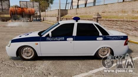 2170 Vaz-Lada Priora DPS pour GTA 4 est une gauche