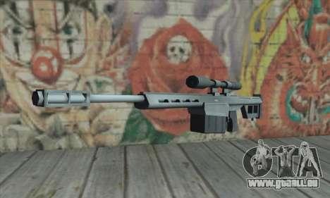Fusil de sniper de la Saints Row 2 pour GTA San Andreas