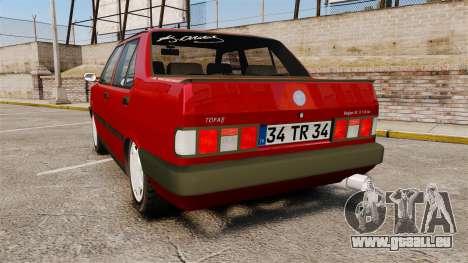 Tofas Dogan pour GTA 4 Vue arrière de la gauche