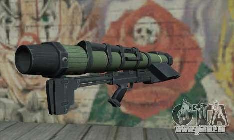 Raketenwerfer für GTA San Andreas zweiten Screenshot