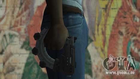 Le pistolet de Timeshift pour GTA San Andreas troisième écran