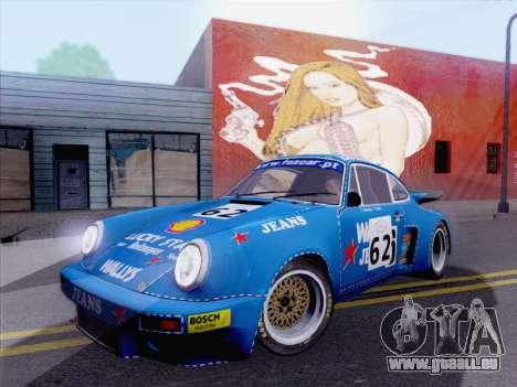 Porsche 911 RSR 3.3 skinpack 5 pour GTA San Andreas