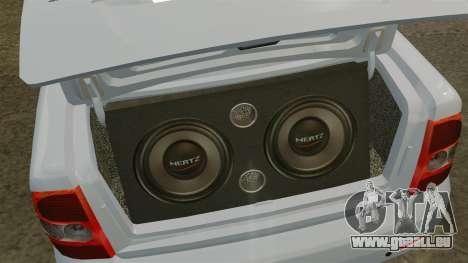 Lada Priora pour GTA 4 est un côté
