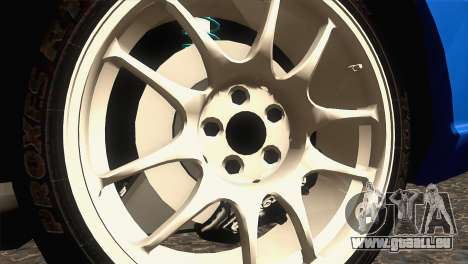 Subaru WRX STI 2004 pour GTA San Andreas vue arrière