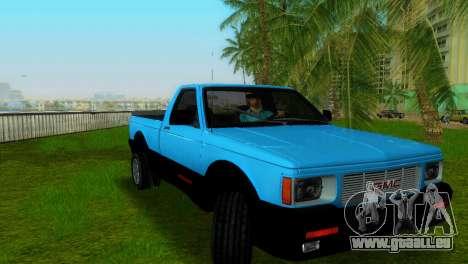 GMC Cyclone 1992 pour GTA Vice City