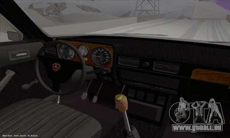 GAZ 3102 Wolga für GTA San Andreas Innenansicht
