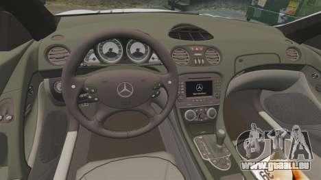 Mercedes-Benz SL65 AMG pour GTA 4 est une vue de l'intérieur