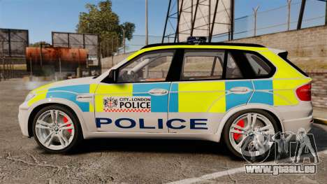 BMW X5 City Of London Police [ELS] für GTA 4 linke Ansicht