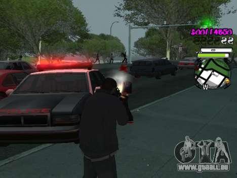 HUD pour GTA San Andreas sixième écran