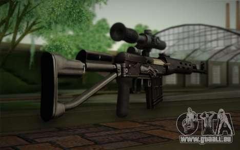 fusil 7,62 Dragunov SVD-s pour GTA San Andreas deuxième écran