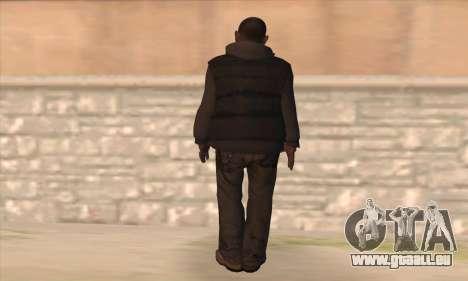 Clarence de GTA IV pour GTA San Andreas deuxième écran